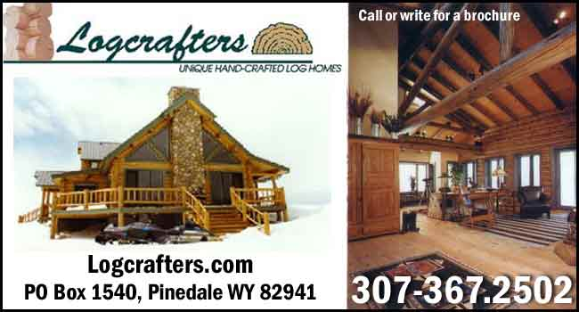 Logcrafters - Unique hand-crafted log homes. Call or write for a brochure!