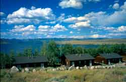LAKESIDE LODGE IS OPEN YEAR ROUND Lakeside Lodge, located on the shore of Fremont Lake - just 4 miles from Pinedale