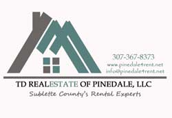 For more info contact Milissa Rider, Responsible Broker, TD Real Estate of Pinedale, LLC,