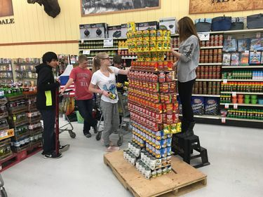 LegoMan CANstruction Display in Ridley�s