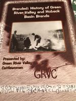 'Branded: History of Green River Valley and Hoback Basin Brands', new book just published by the River Valley Cattlewomen.