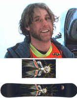 Ben Bradley was stabbed to death in June, 2006 while hitchhiking between Rock Springs and Jackson, Wyoming. The  unique snowboard he had with him has never been recovered. Anyone with information on the case, including information about Bradley�s unique snowboard, is asked to contact the Sweetwater County Sheriff�s Office or the Division of Criminal Investigation. Photo courtesy SCSO.