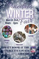 Winter Fair March 2 at the Pinedale Library