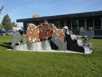 School Sculpture