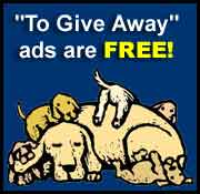 To Give Away ads are free!